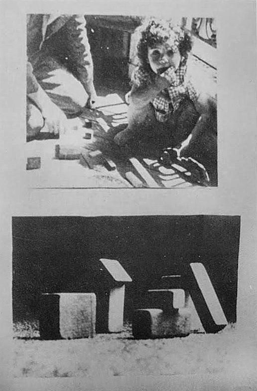 Christian Boltanski, Recherche et présentation de tout ce qui reste de mon enfance, 1944-1950, 1969