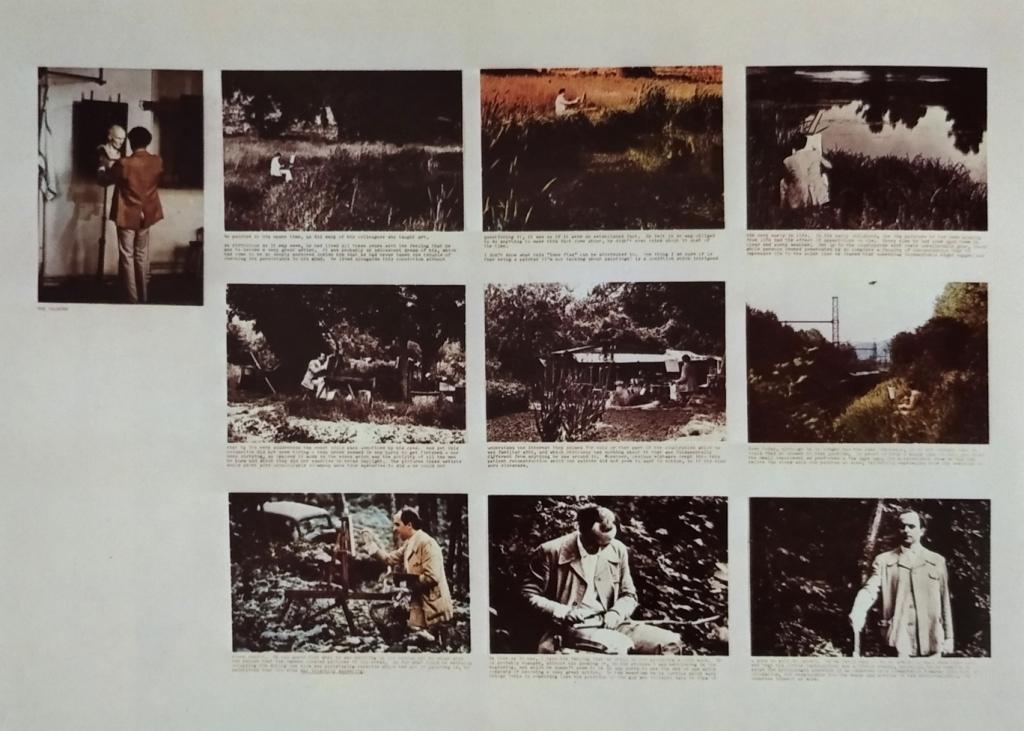 Jean Le Gac, Le peintre, 1974