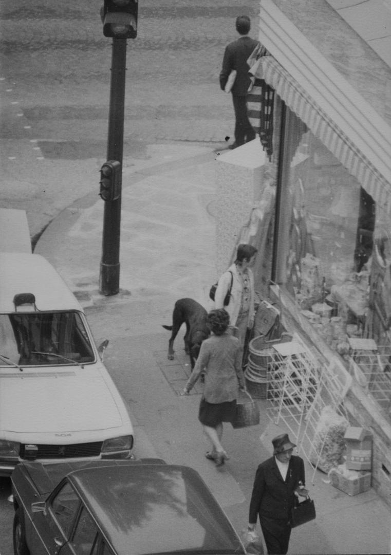 Didier Bay, Mon quartier (vu de ma fenêtre), 1969-1971