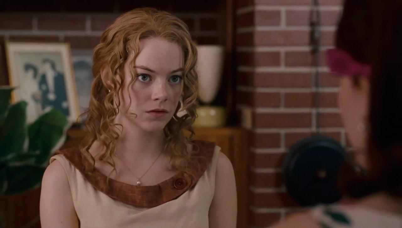 Emma Stone nel film The Help di Tate Taylor, 2011