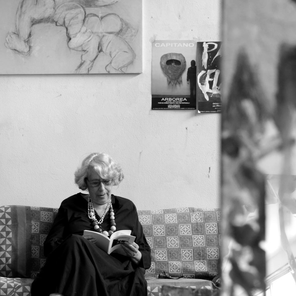 Giosetta Fioroni, foto di Enrico Minasso