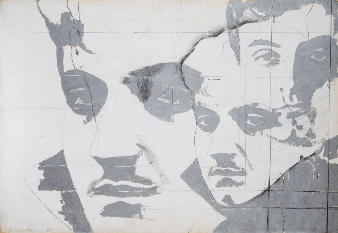 Giosetta Fioroni, Ritratto di Goffredo Parise, 1966