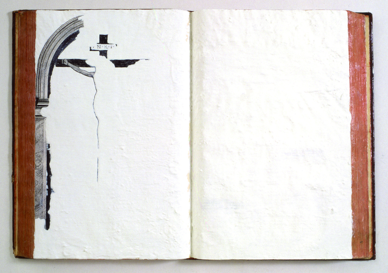 Emilio Isgrò, Forse Gesù, 1991