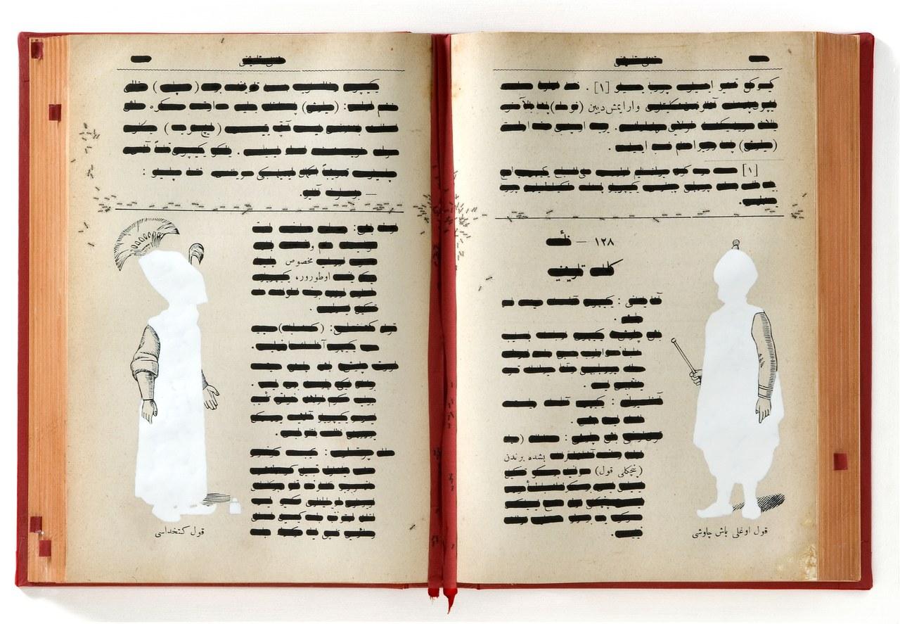 Emilio Isgrò, Codice ottomano della solitudine, 2010