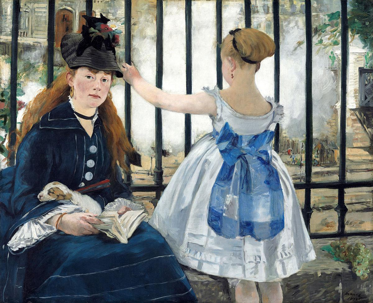 Eduard Manet, La ferrovia (1872-73