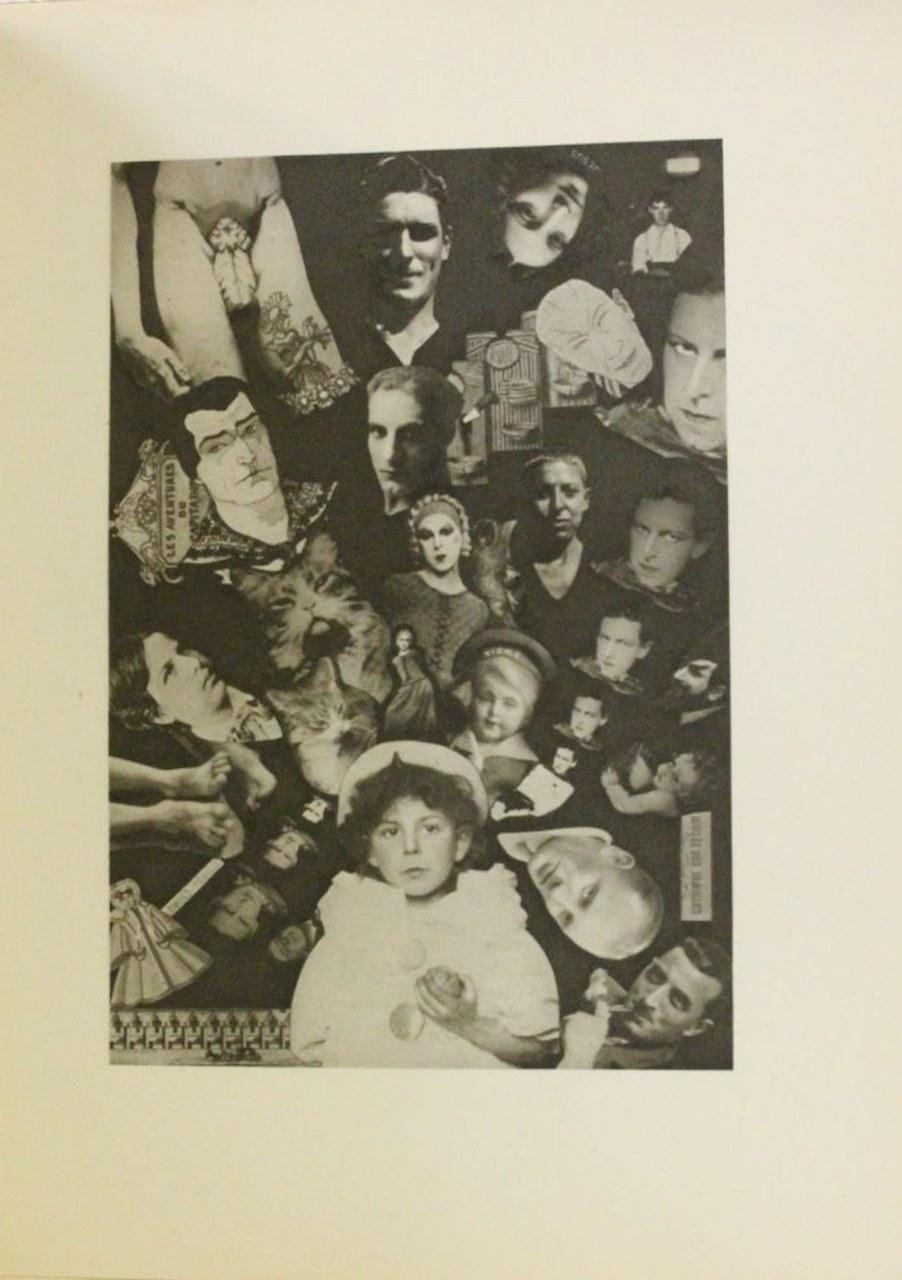 C. Cahun, Fotomontaggio 'À septans je cherchais déjà …', in Aveux non avenus, 1930, pos. 104