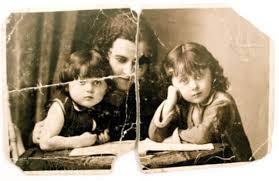 Immagine tratta da un album anonimo e utilizzata da A.-M. Garat per la copertina di Photos de famille, Un roman de famille, 1994