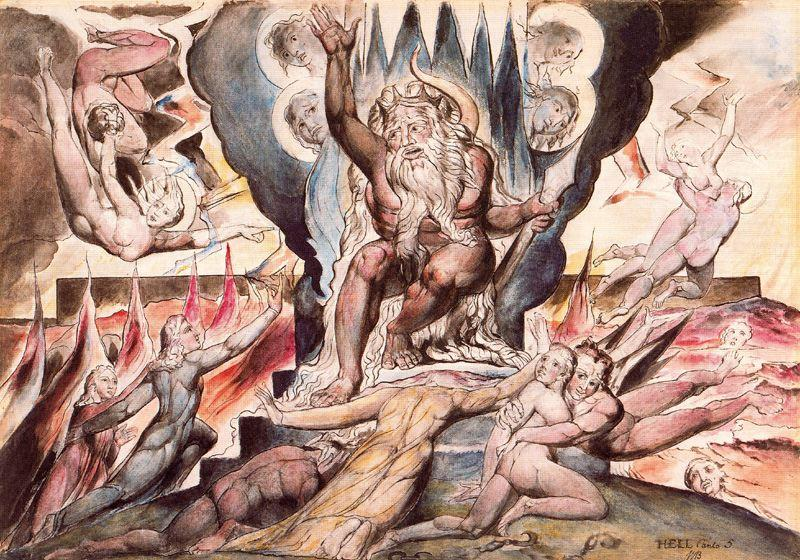 fig. 3 W. Blake,Minos, 1924-27, National Gallery of Victoria