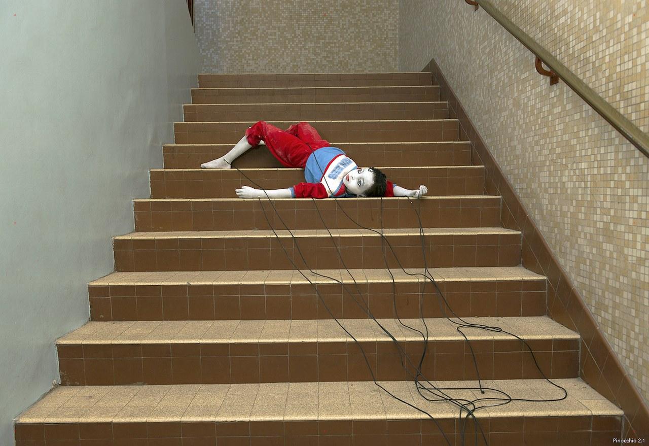 Fig. 3.Pinocchio 2.1.Fatoumata Soumaré(École Paris Bercy) ©Elisabeth Carecchio & Alice Laloy