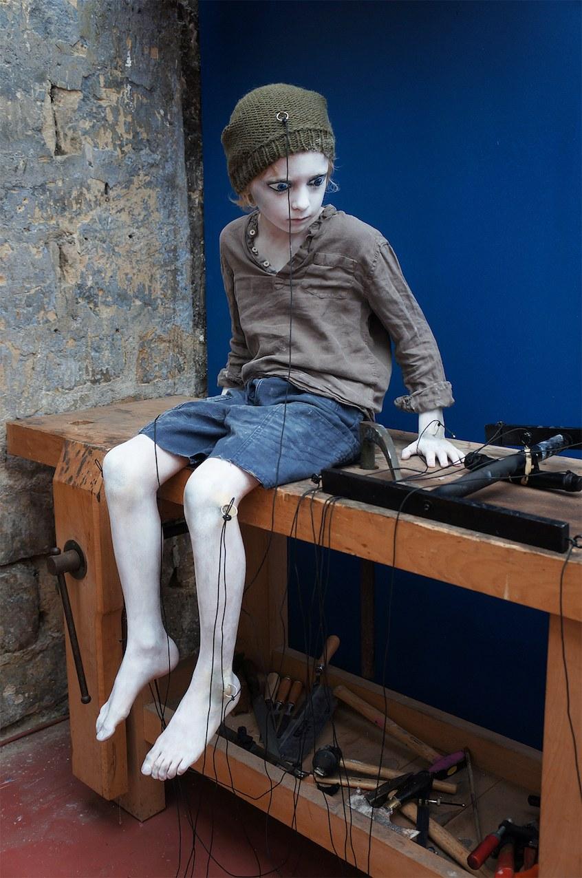 Fig. 6. Pinocchio 0.0.Elliott Sauvion-Laloy. Atelier ©Alice Laloy