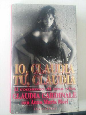 Fig. 1 Copertina del libro di C. Cardinale, A. M. Mori, Io, Claudia, tu, Claudia, Milano, Frassinelli, 1995
