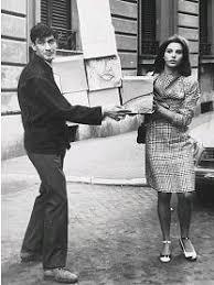 Fig. 1 Paola Pitagora e Renato Mambor negli anni Sessanta. La foto è la seconda illustrazione di Fiato d'artista scelta dall'autrice