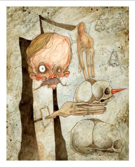 Fig. 1. Stefano Bessoni, Pinocchio, Geppetto, 2014