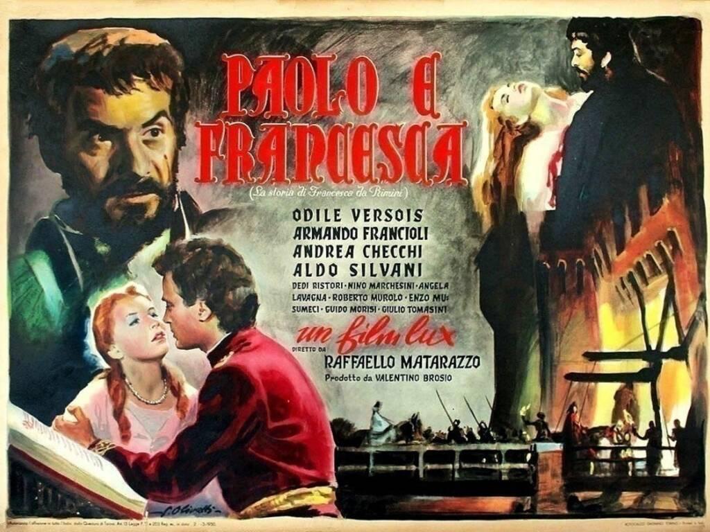 fig. 1 Raffaello Matarazzo,Paolo e Francesca, 1950