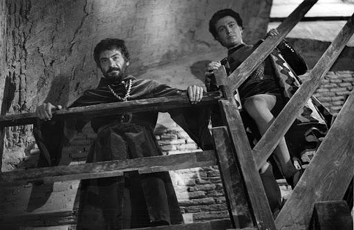 fig. 2 Gianciotto Malatesta (a sinistra) e il fratello Paolo (a destra)