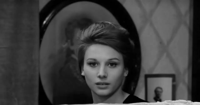 Fig. 3 Paola Pitagora ne I pugni in tasca (1965) di Marco Bellocchio