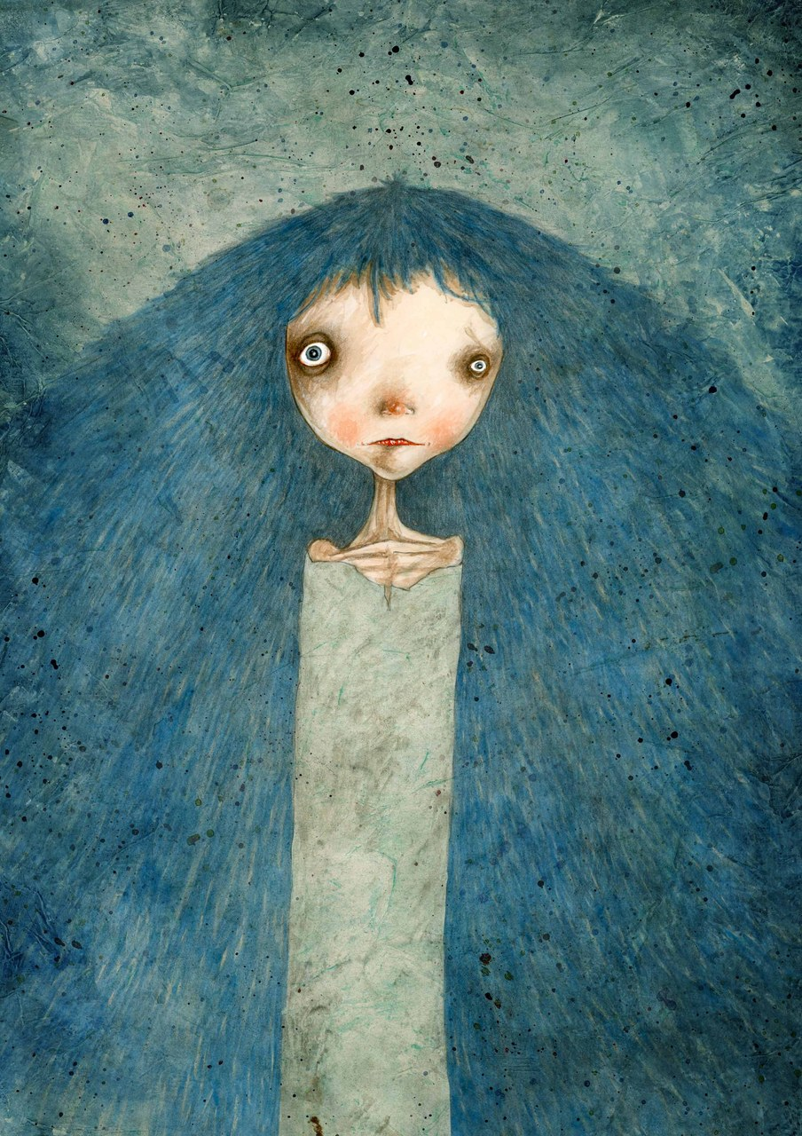 Fig. 7. Stefano Bessoni, Pinocchio, La bambina morta dai capelli turchini, 2014