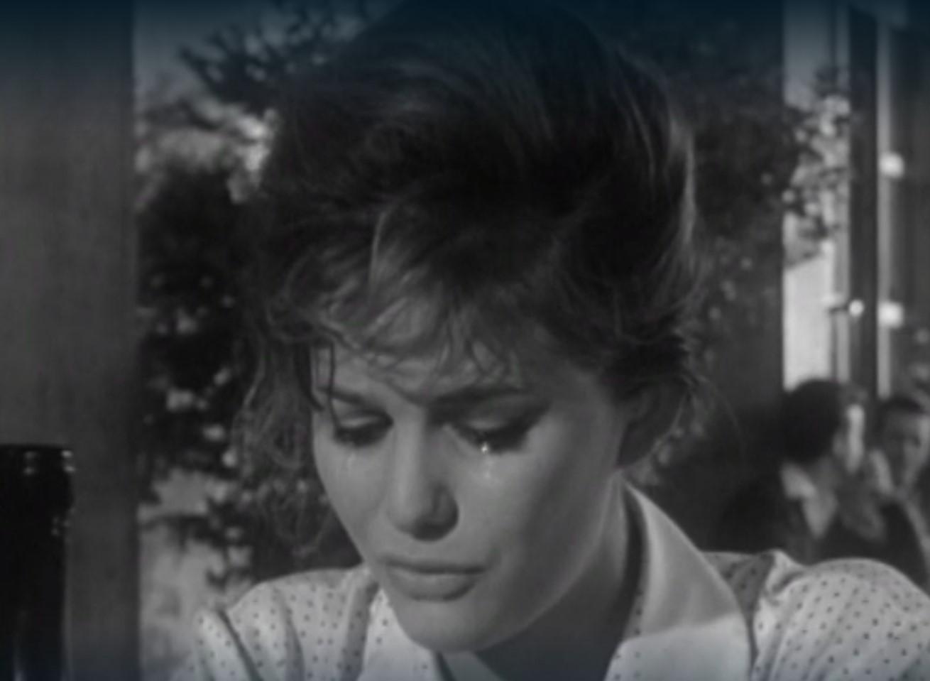 Fig. 5 Claudia Cardinale in una scena de La ragazza con la valigia (1961) di Valerio Zurlini