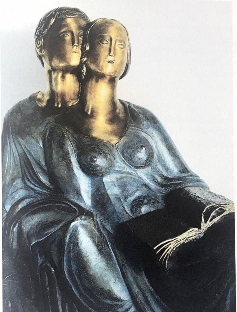 fig. 7 Alba Gonzales,Paolo e Francesca, 1993