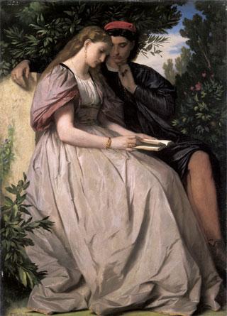 fig. 8 Anselm Feuerbach, Paolo e Francesca, 1864