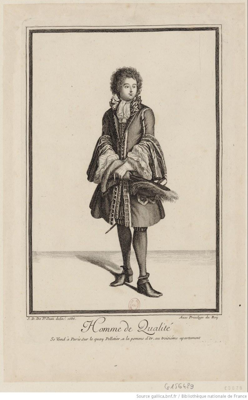 Fig. 3 Jean Dieu de Saint-Jean, Homme de qualité, 1686 (gallica.bnf.fr / BnF).