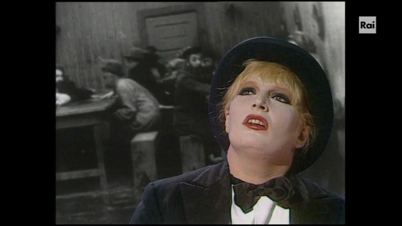 Gabriella Ferri in un momentodi Dove sta Zazà, 1973