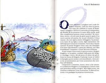 Grazia Nidasio, Fine di Rodomonte, tecnica mista su carta, 2009