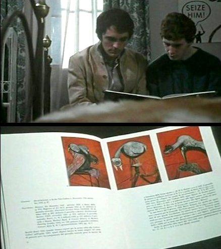 Un dittico di fotogrammi daTeorema(1968)