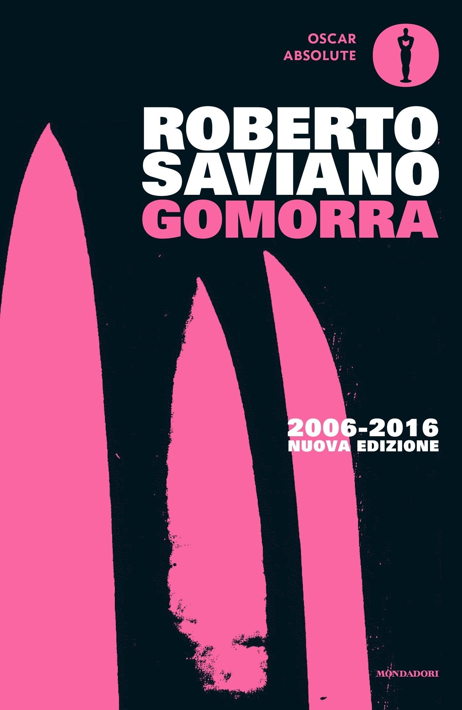 La cover del libro Gomorra di Roberto Saviano (Mondadori 2006)