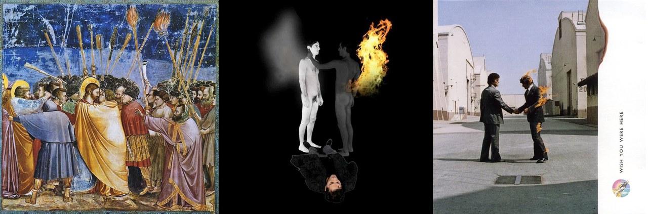 le fonti visive che ispirano la prima videoproiezione di Is Is Oil montaggio a cura di Alberto Sarti, Teatri di Vita