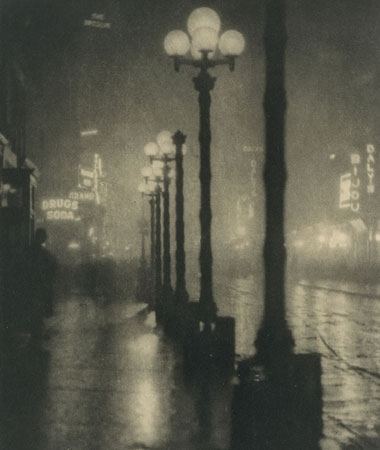 ©Alvin Langdon Coburn Broadway at Night