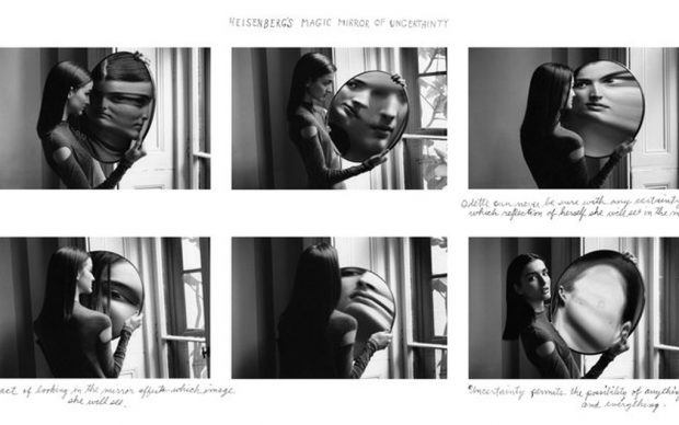 ©Duane Michals Heisenberg's Magic Mirror of Uncertainity