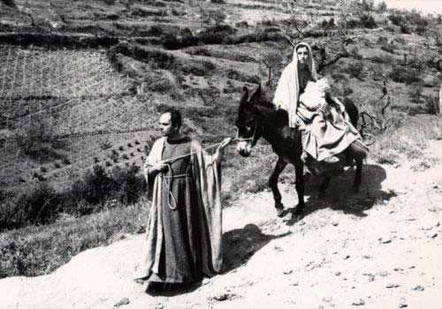 Fuga in Egitto daIl Vangelo secondo Matteo(1964)
