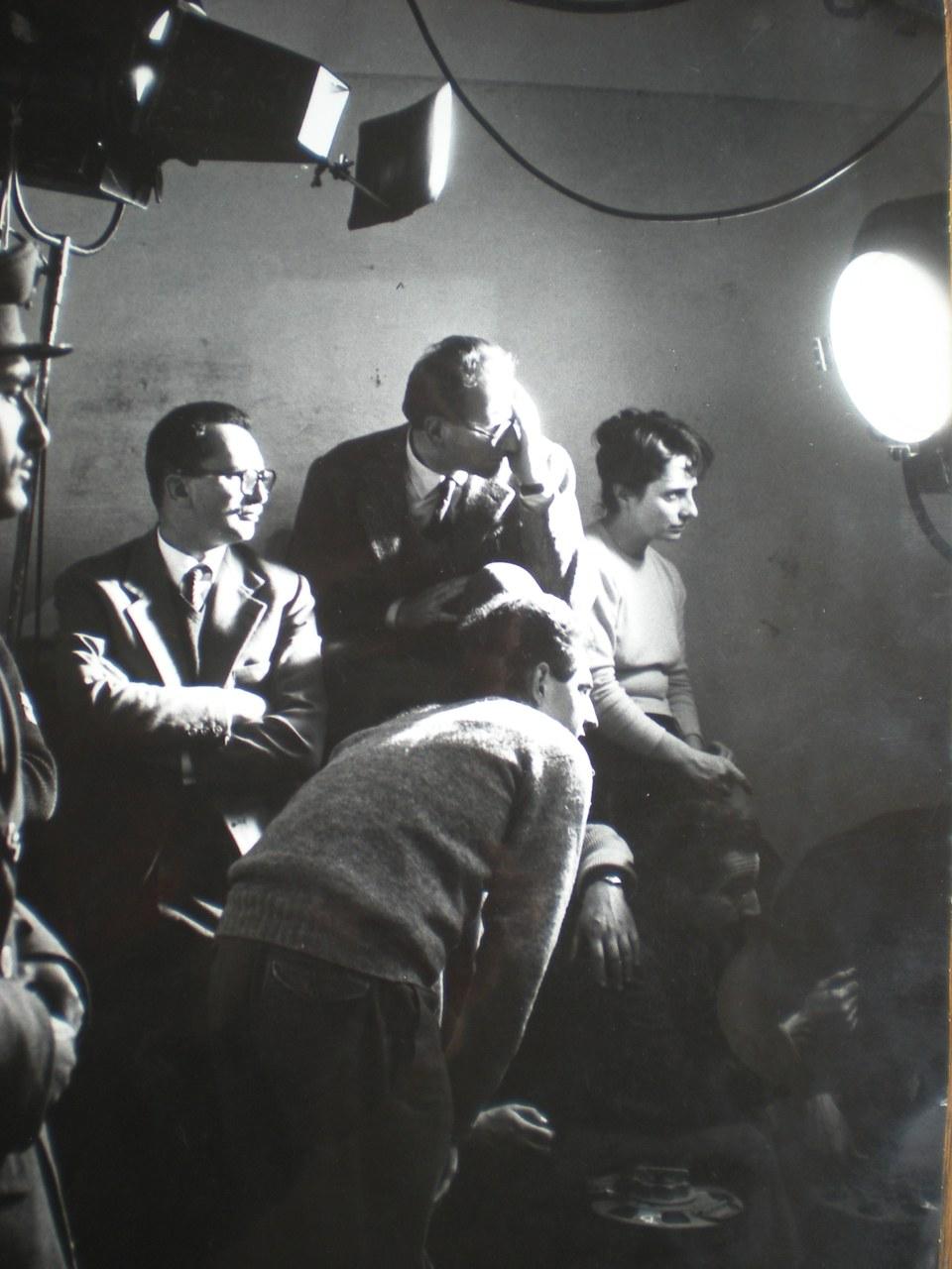 Goliarda Sapienza sul set de La donna del giorno (1956) © Archivio Sapienza Pellegrino