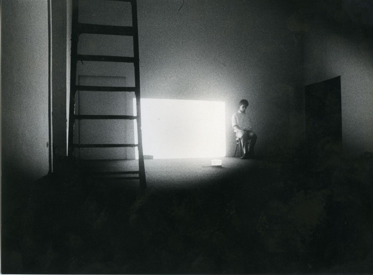 Falso Movimento, Segni di vita, Napoli, Galleria Lucio Amelio, 1979 ©Cesare Accetta