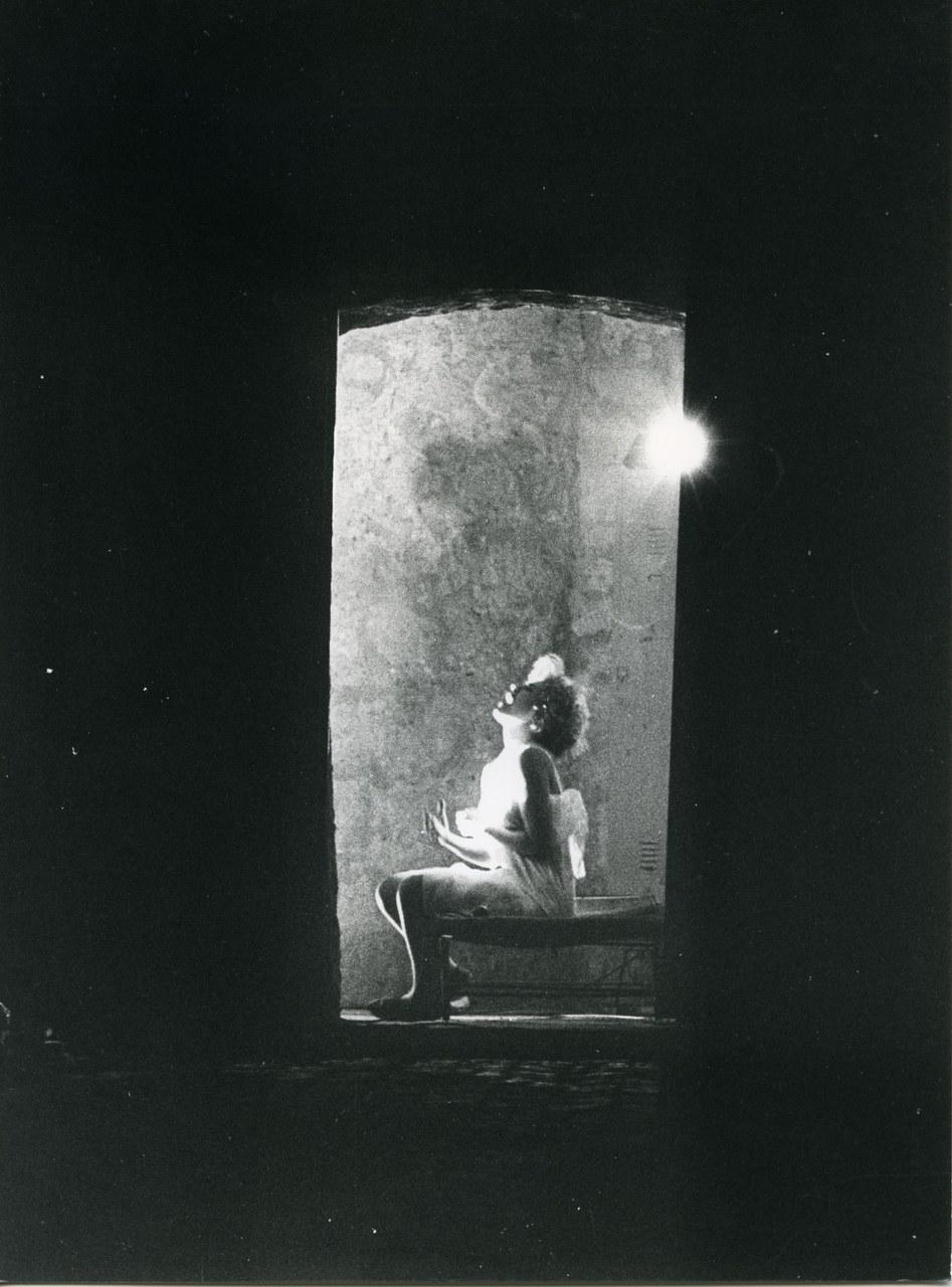 Falso Movimento, Otello, Napoli, Castel Sant'Elmo, regia Mario Martone, 1983 ©Gianni Fiorito