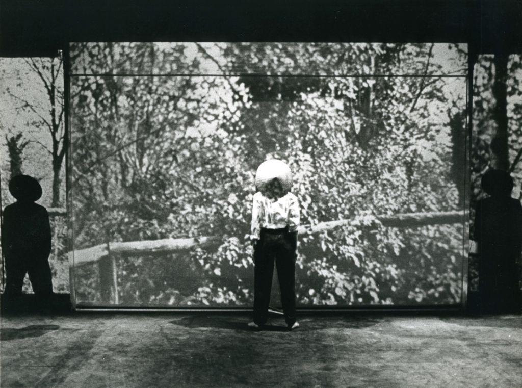 Falso Movimento, Tango glaciale, Napoli, Teatro Nuovo, 1982 ©Gianni Fiorito