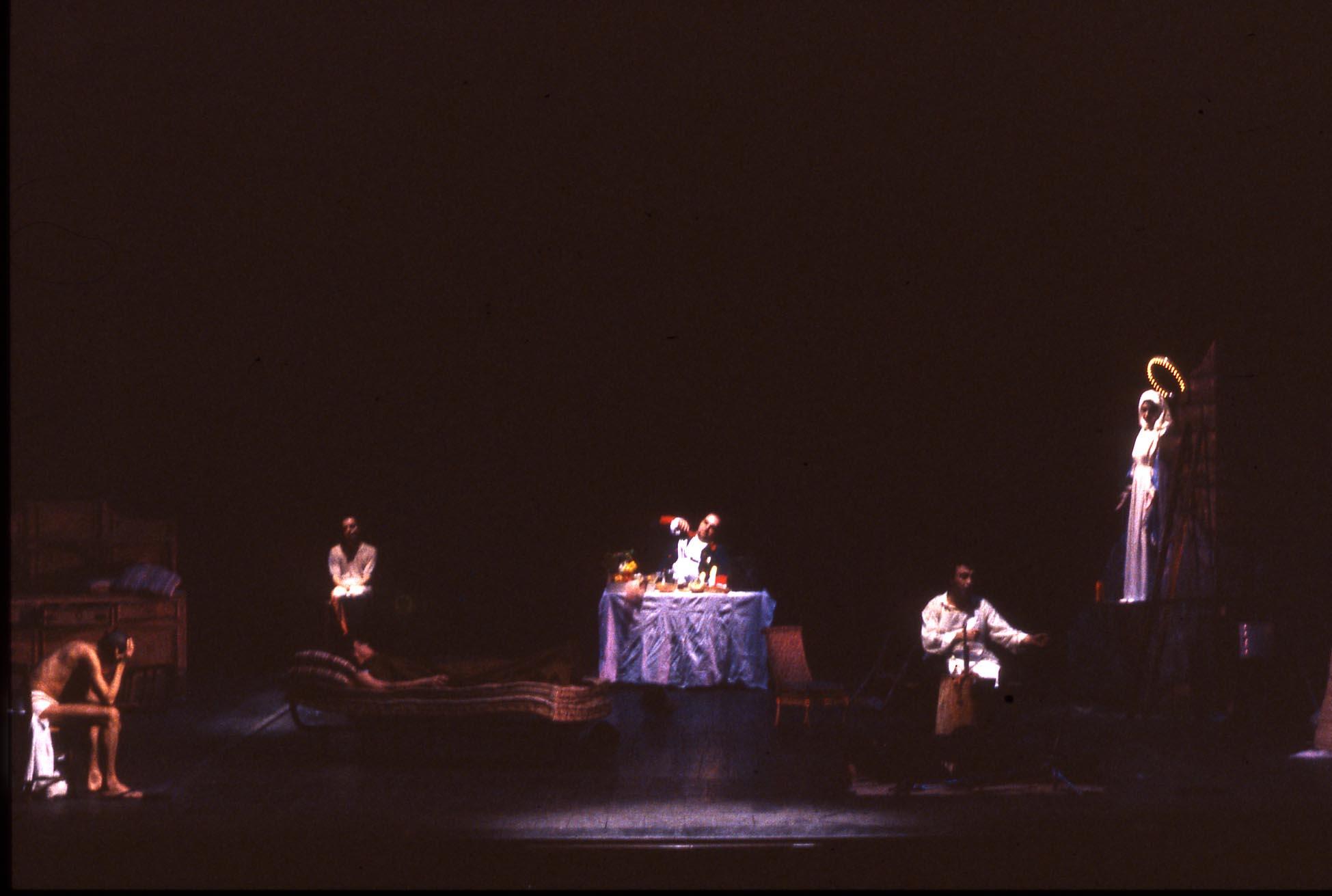 Falso Movimento, Rasoi, regia Mario Martone, 1991 ©Cesare Accetta
