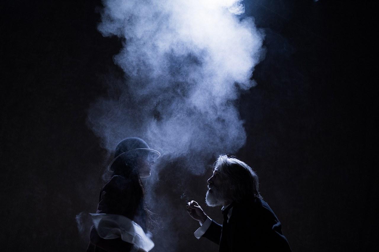 Teatropersona, Il giardino dei ciliegi, 2019, drammaturgia, regia, scene, luci. costumi di Alessandro Serra; foto di Alessandro Serra
