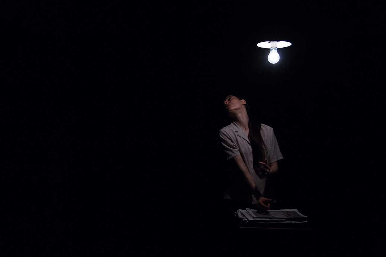Teatropersona, L'ombra della sera, 2015, regia, scene, luci di Alessandro Serra, foto di Alessandro Serra