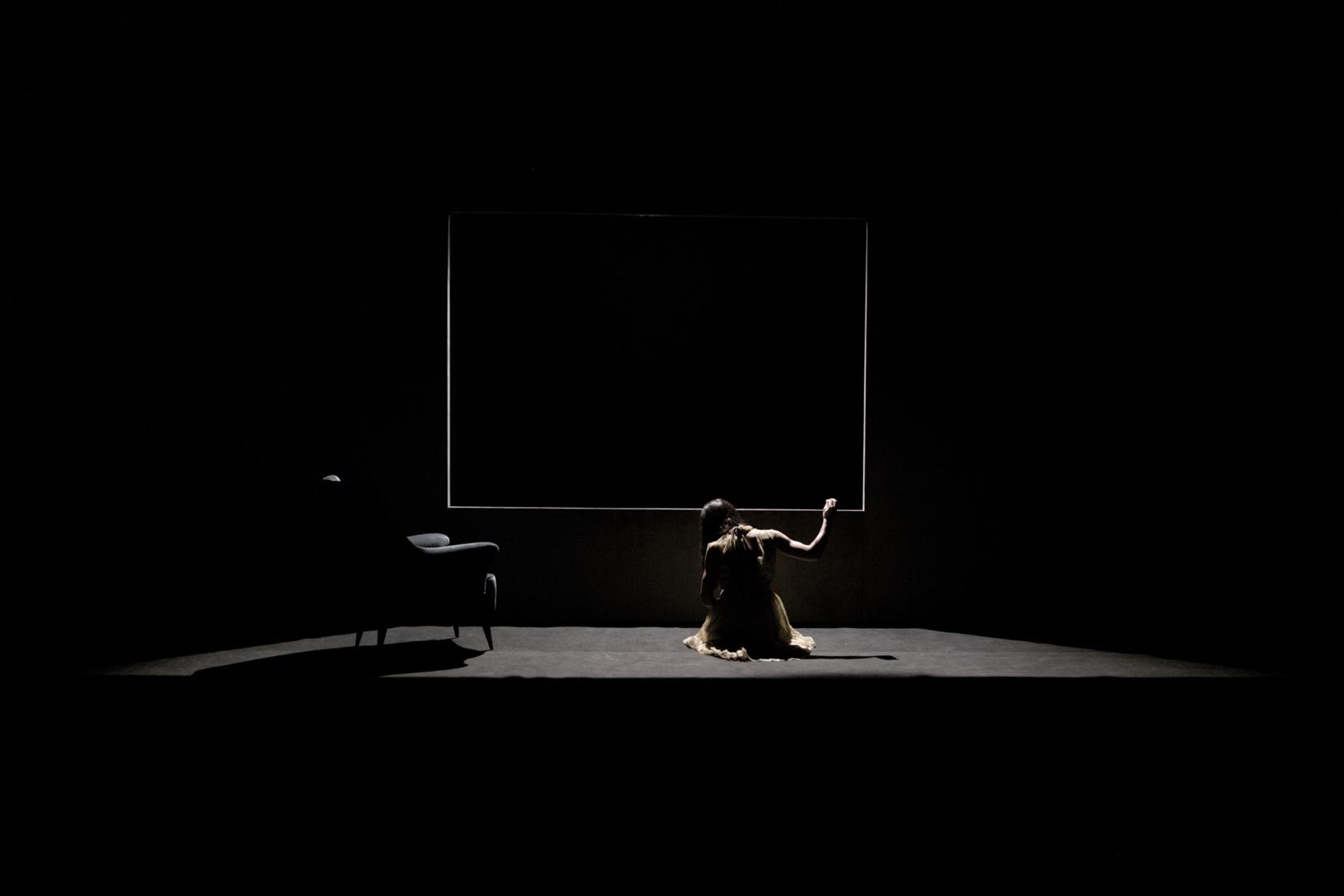 Teatropersona, Frame, 2017, drammaturgia, regia, scene, luci di Alessandro Serra; foto di Alessandro Serra
