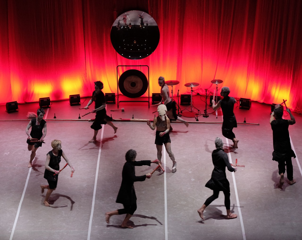 Giuramenti di Teatro Valdoca, 2017 ©Maurizio Bertoni