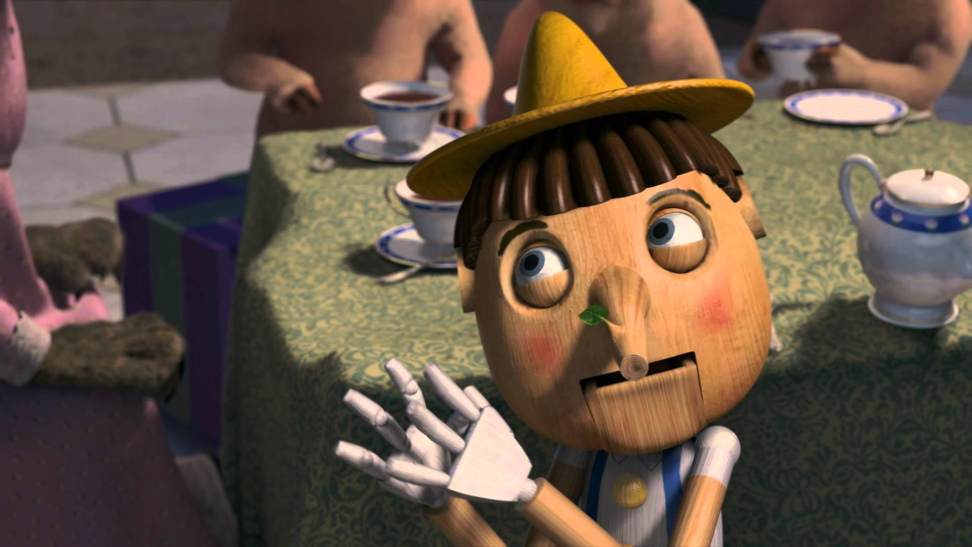 Chris Miller, Raman Hui, Shrek the Third, 2007 – Pinocchio