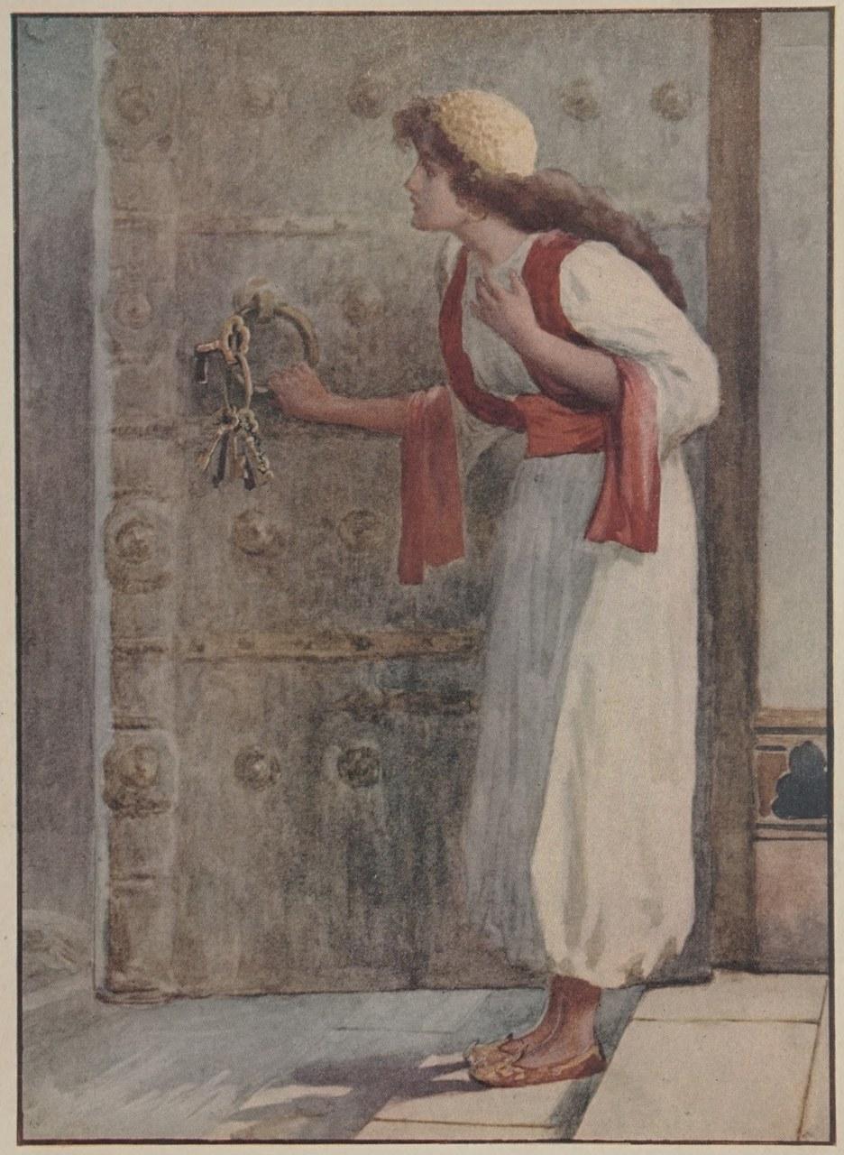 Immagine precedente il frontespizio di The Story of Bluebeard and Other Stories, con illustrazioni di J. Watson Davis, A. L. Burt Company, Publishers, New York, 1905