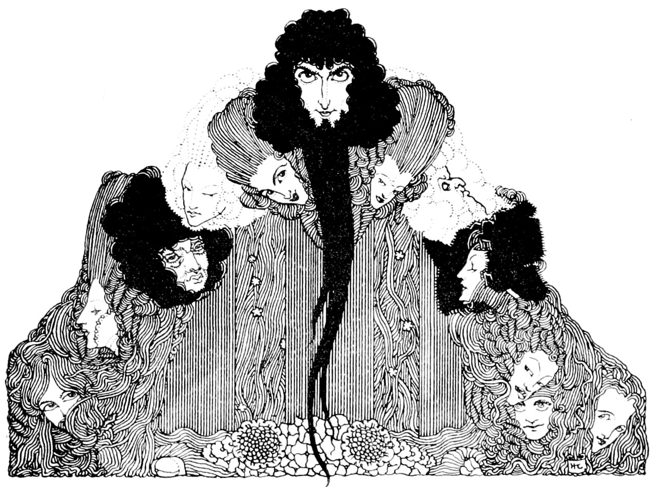 The Fairy Tales of Charles Perrault, illustrato da Harry Clarke, London, Harrap, 1922 (Wikimedia Commons)