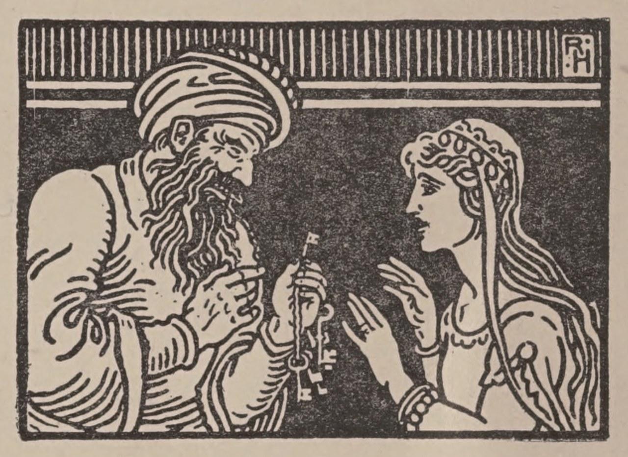 Immagine del frontespizio di The Story of Bluebeard and Other Stories, con illustrazioni di J. Watson Davis, A. L. Burt Company, Publishers, New York, 1905