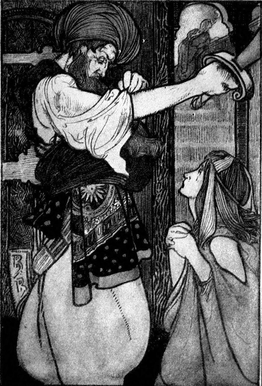 Charles Robinson, Fairy Tales (Barbe-bleue), 1913 (Wikimedia Commons)