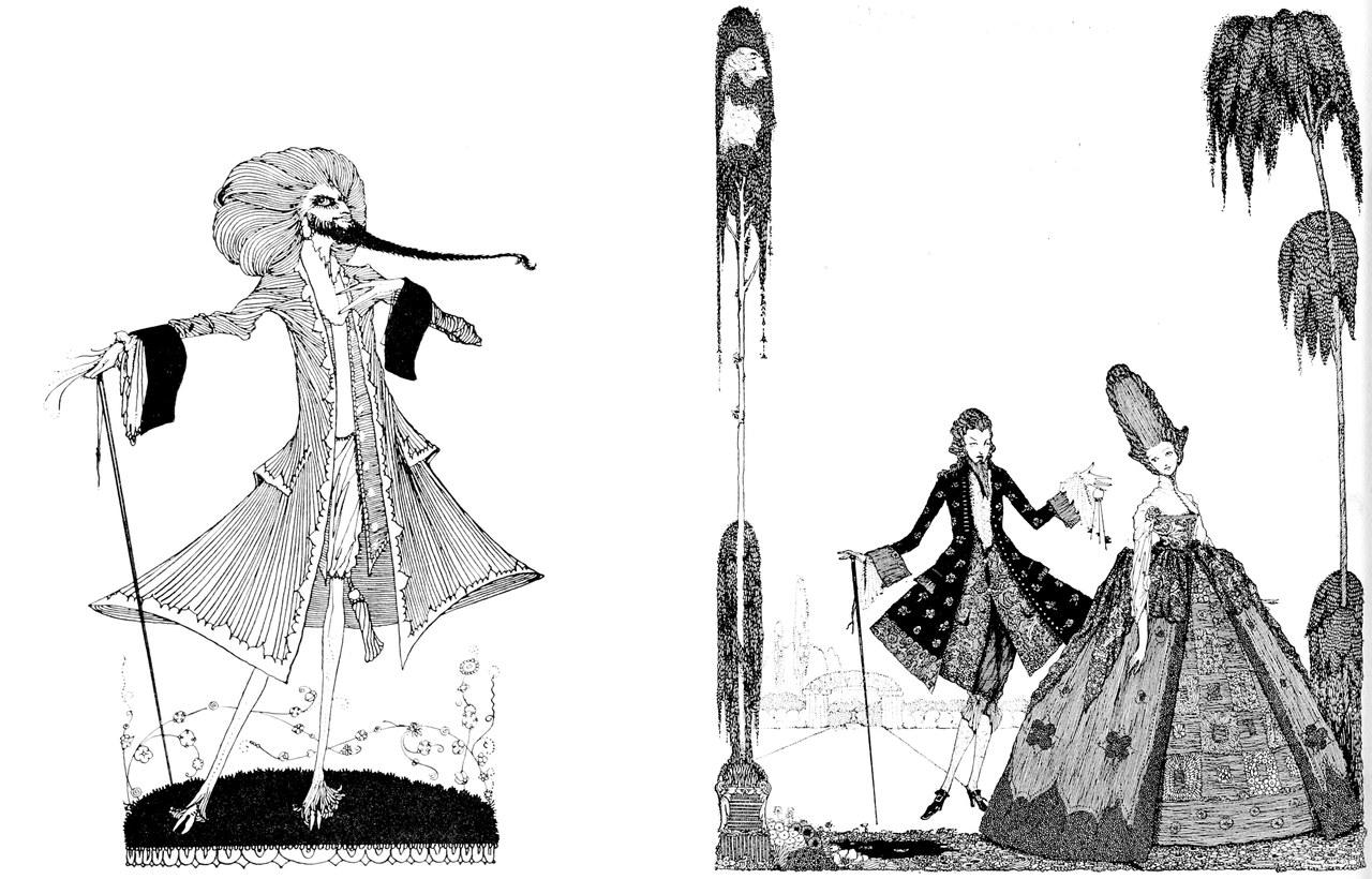 The Fairy Tales of Charles Perrault, illustrato da Harry Clarke, London, Harrap, 1922 (Wikisource)