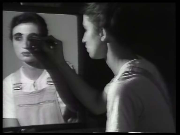 Fig. 6 Elaine Shemilt, Doppelgänger, 1979-81, still from video. Courtesy of the artist