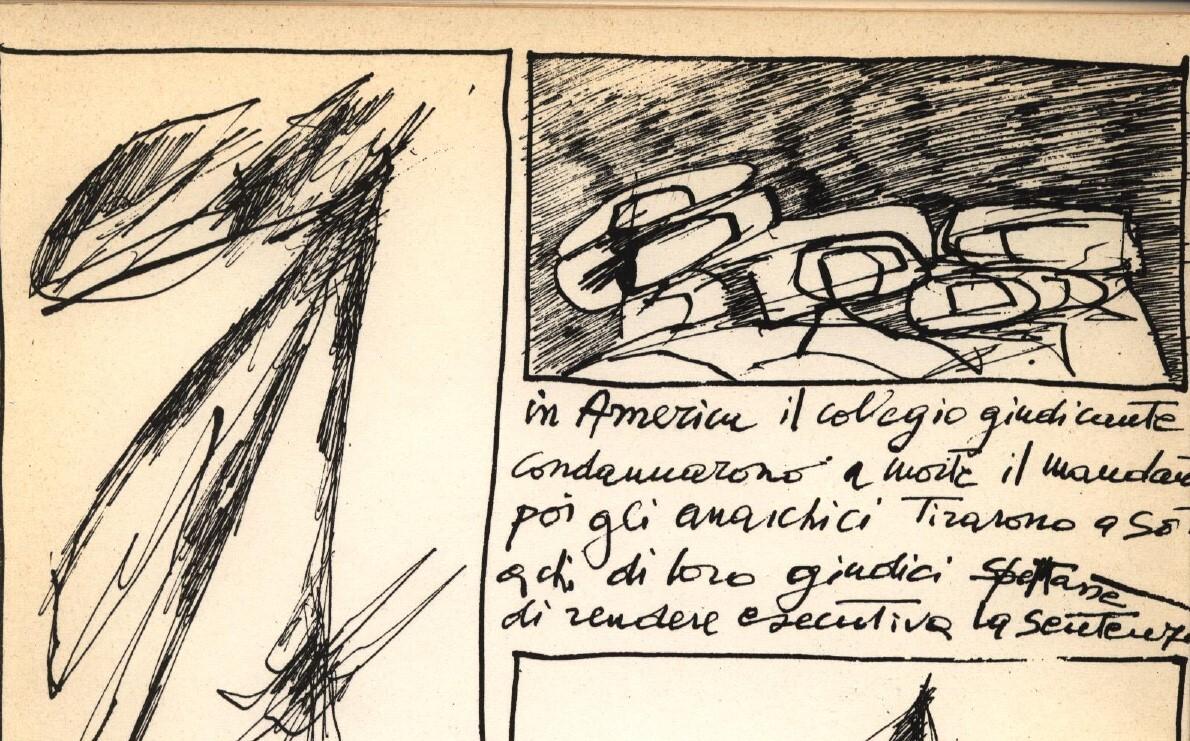 E. Pagliarani, A. Perilli, Come alla luna l'alone, particolare, Grammatica 1964